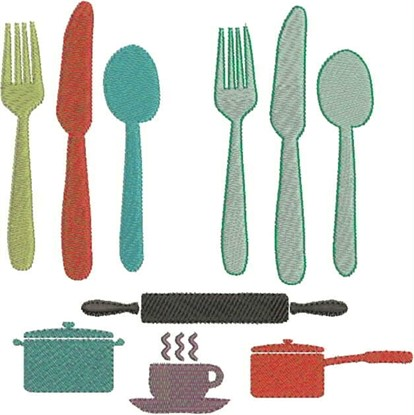 Picture of Kitchen Items
